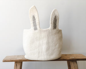 MUSHKANE BUNNY PASU BASKET | NATURAL