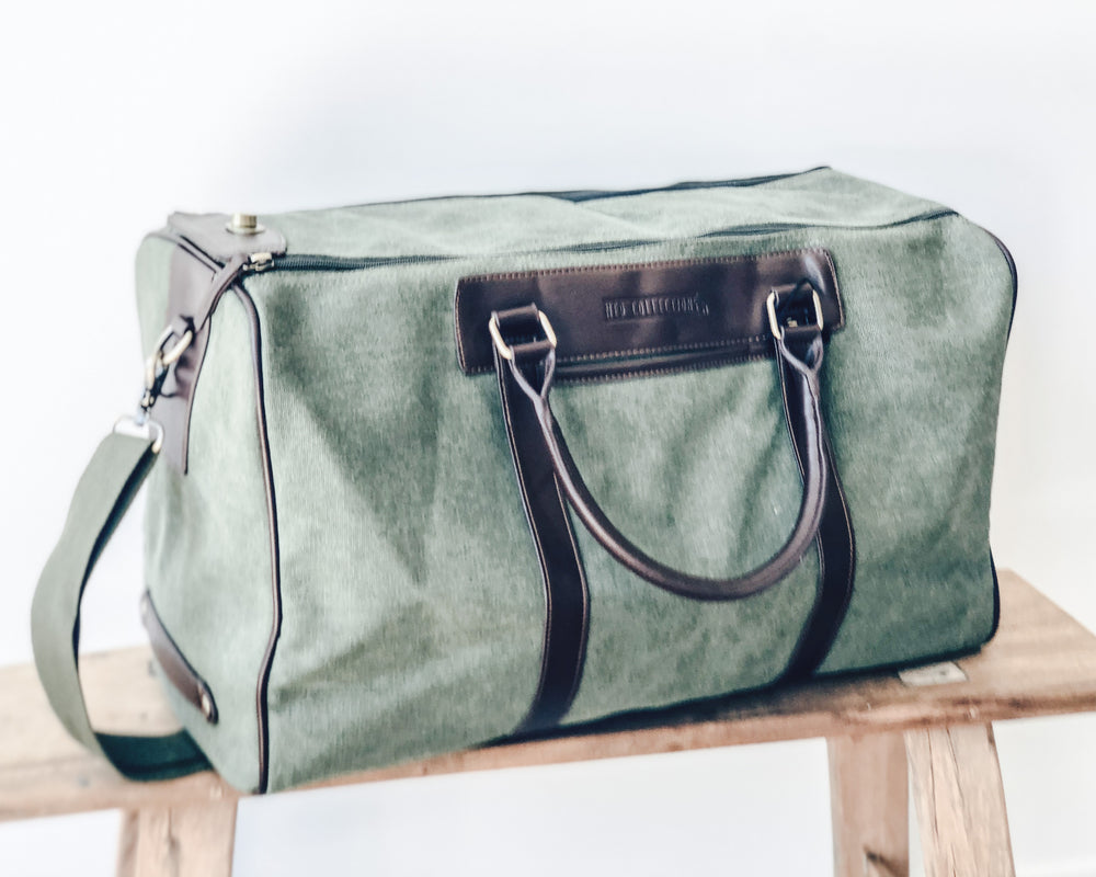 Load image into Gallery viewer, HUEY WEEKENDER BAG | GREEN