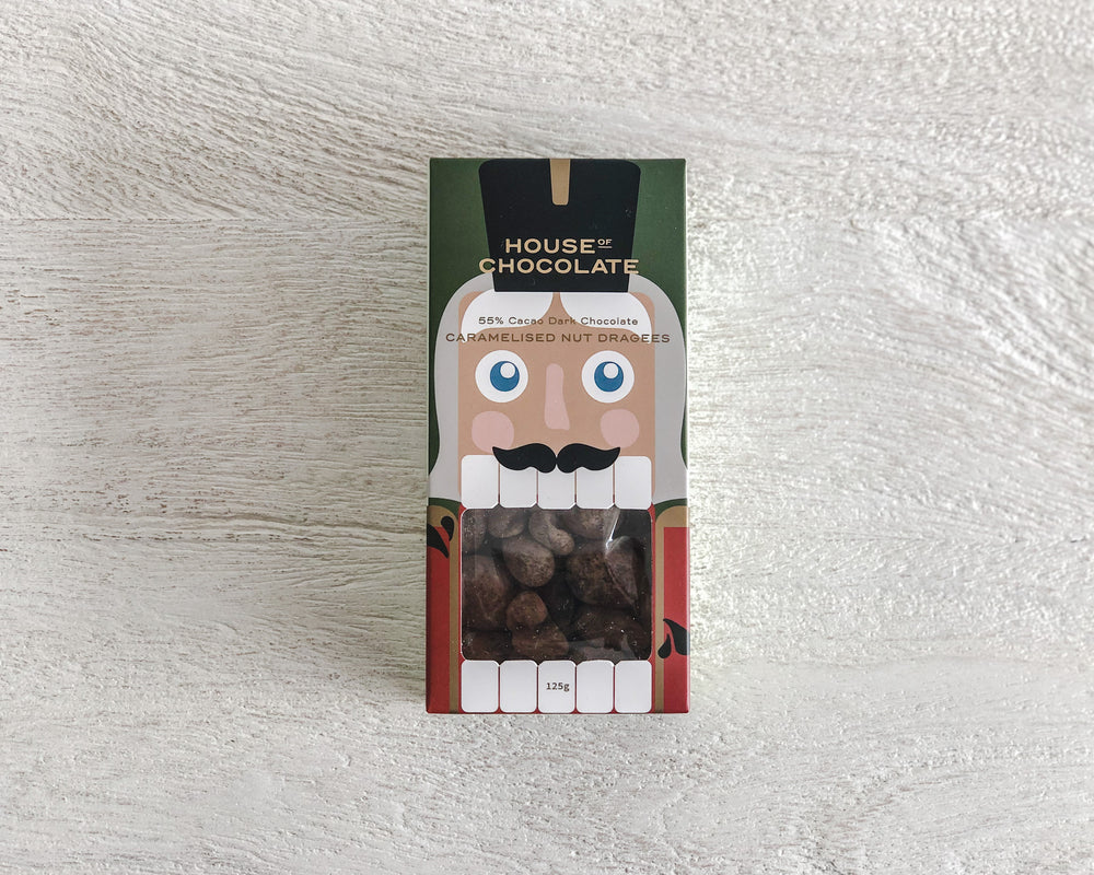 HOUSE OF CHOCOLATE | NUTCRACKER NUT DRAGEES