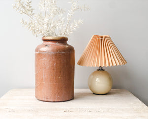 PETITE PLEATED LAMP | CERAMIC