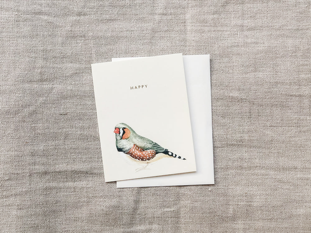 HAPPY BIRD CARD