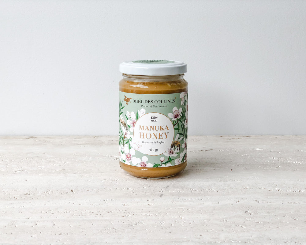 MIEL DES COLLINES | 120+ MGO MANUKA HONEY