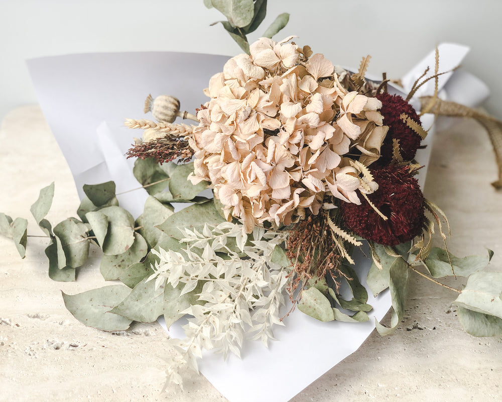 DRIED FLORAL BUNCH | SCARLETT