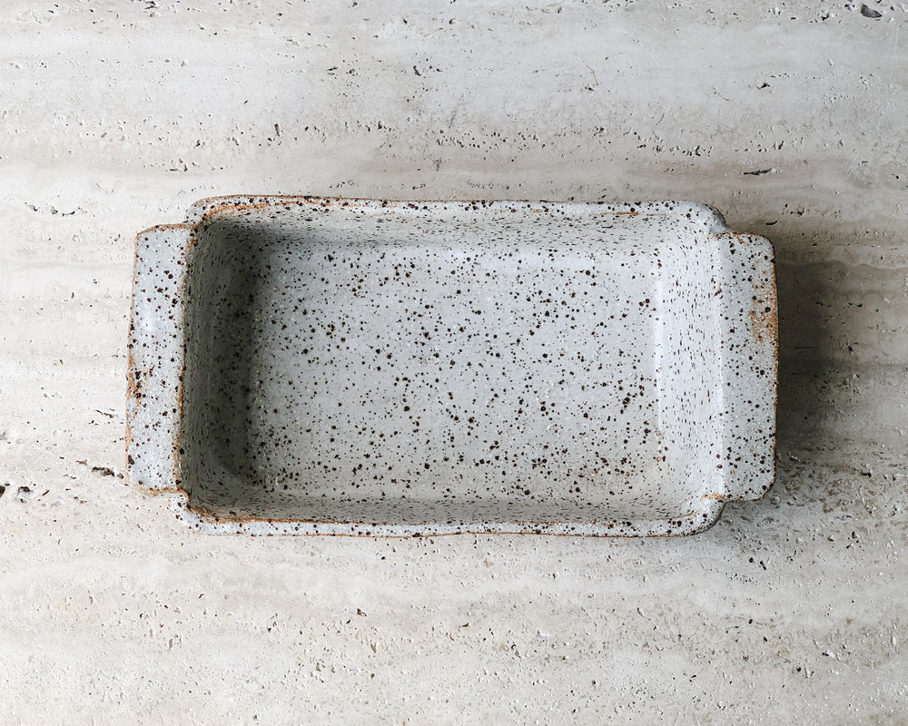 RUSTIC LOAF TIN | SPECKLED CLAY