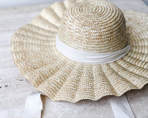 Load image into Gallery viewer, PLEATED SUN HAT