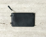 HOLSTERE PEBBLED LEATHER POUCH | BLACK