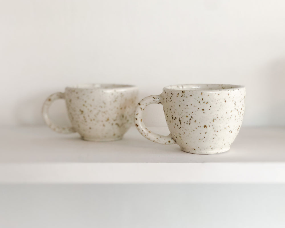 COFFEE CUPS | EGGSHELL