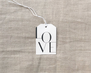Load image into Gallery viewer, GIFT TAG | LOVE