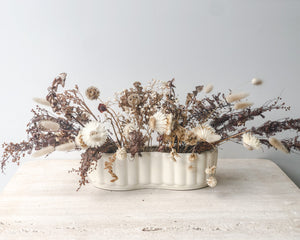 Load image into Gallery viewer, CROWN LYNN DRIED FLORAL TROUGH
