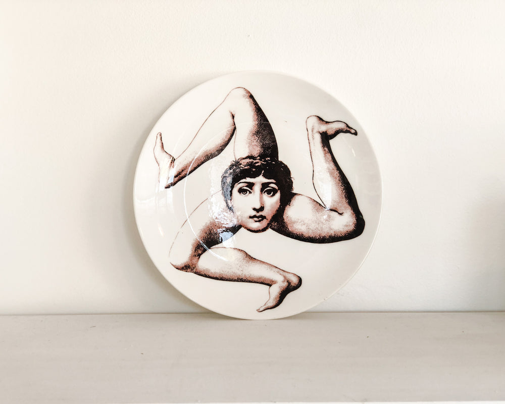 Load image into Gallery viewer, FORNASETTI REPLICA PLATE | LEGS