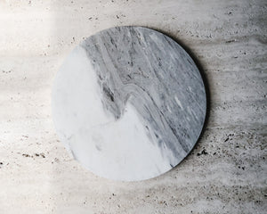 Load image into Gallery viewer, ROUND MARBLE PLATE