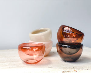 MINIATURE FULVIO GLASS BOWL