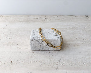 LOUIS CHAIN GOLD BRACELET