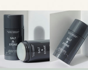 Load image into Gallery viewer, SALT & STONE DEODORANT | VETIVER & SANDALWOOD