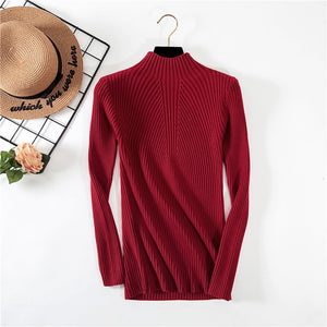 Wonderbaarlijk New Women's Turtleneck Sweater Women Sweaters Fashion Jersey Women RC-46