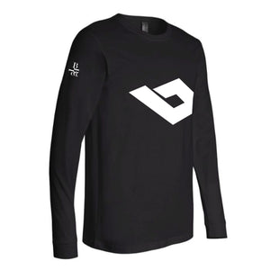 LBBco The Symbol Long Sleeve Crew Neck Tee - LBBco - ClassyURBANWear