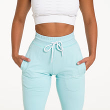 Load image into Gallery viewer, Sea Foam Green Joggers
