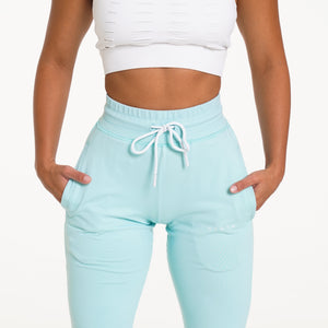 Sea Foam Green Joggers
