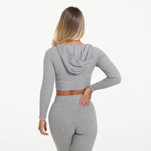 Grey Lazy Day Lounge Long Sleeve