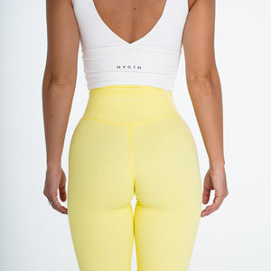 Canary Yellow Signature Leggings