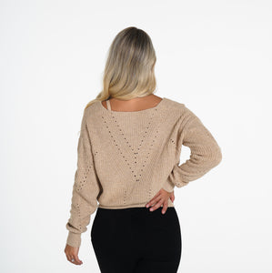 Latte Home Sweet Home Sweater