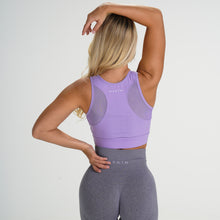 Load image into Gallery viewer, Lilac Lush Mesh Sports Bra