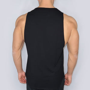 Modest Man Black Tank