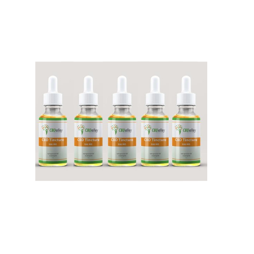 SALE Buy 5 and SAVE CBD Tincture - 500MG | 30ML