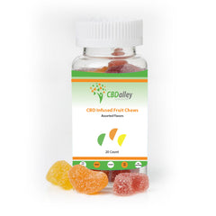 25mg CBD Gummies- 20 Slices