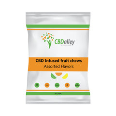 CBD Gummies - 25mg 4 Slices