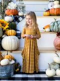 Harvest Yellow Maxi Dress