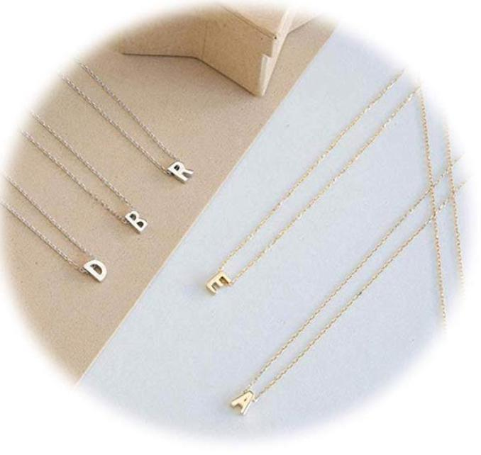 Initial Pendant Charms Necklace-Pendalace [Buy Now]