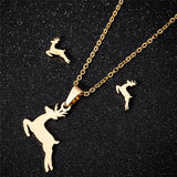 Leaping Reindeer Pendant-Pendalace [Buy Now]