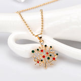 Tree Of Life Pendant Choker Necklace-Pendalace [Buy Now]