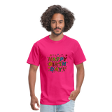 Happy Birthday T-Shirt - fuchsia