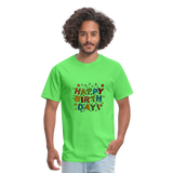 Happy Birthday T-Shirt - kiwi
