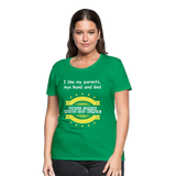 Serial Comma (Oxford Comma) Women's Premium T-Shirt - kelly green