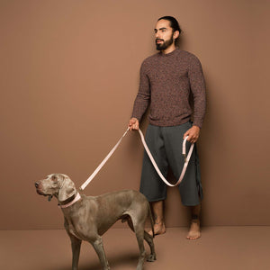 Tan Muti-Function Leash