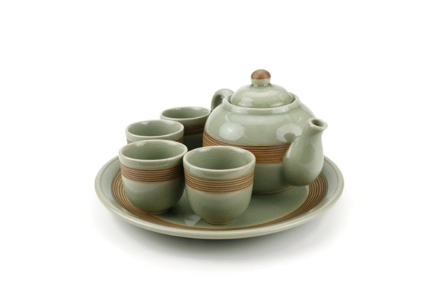 Sai Lom Handmade Tea Set