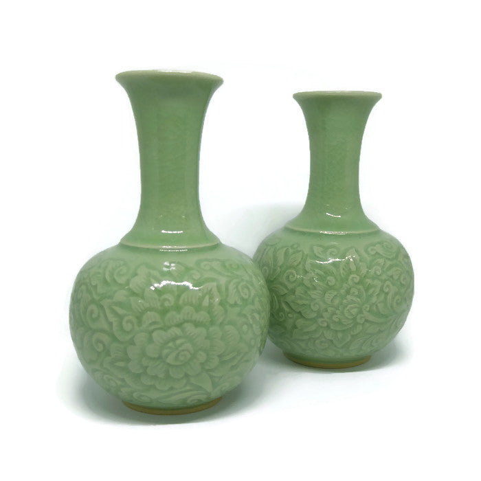 Handmade Ceramic Vase Set of 2