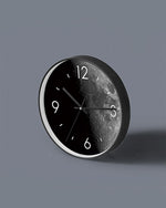 Black Moon Art Wall Clock