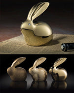 Crystal Brass Lucky Rabbit Home Decoration