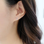 Anchor Mini Stud Earrings