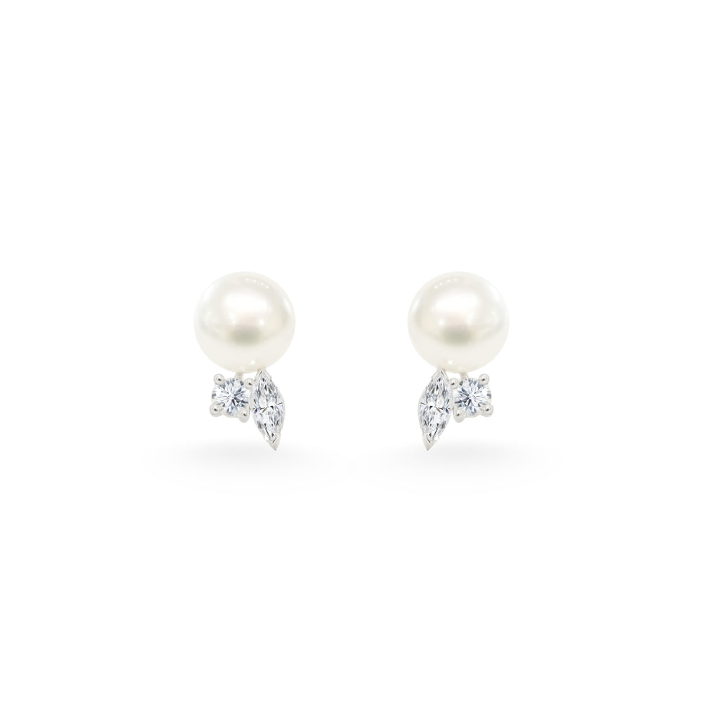 Bunny Pearl Stud Earrings
