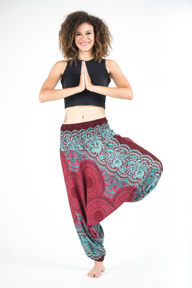 Geometric Mandala Jumpsuit Yoga Pants