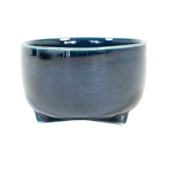 The Hoy Deep Blue Handmade Stoneware Bowl travel product recommended by Sally Fox on Pretty Progressive.