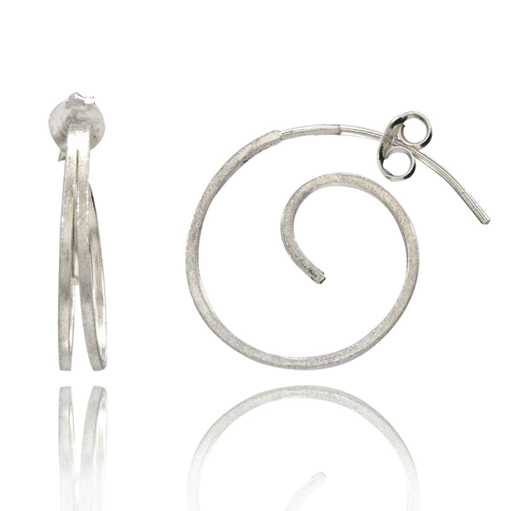 Dazzle Silver Earrings