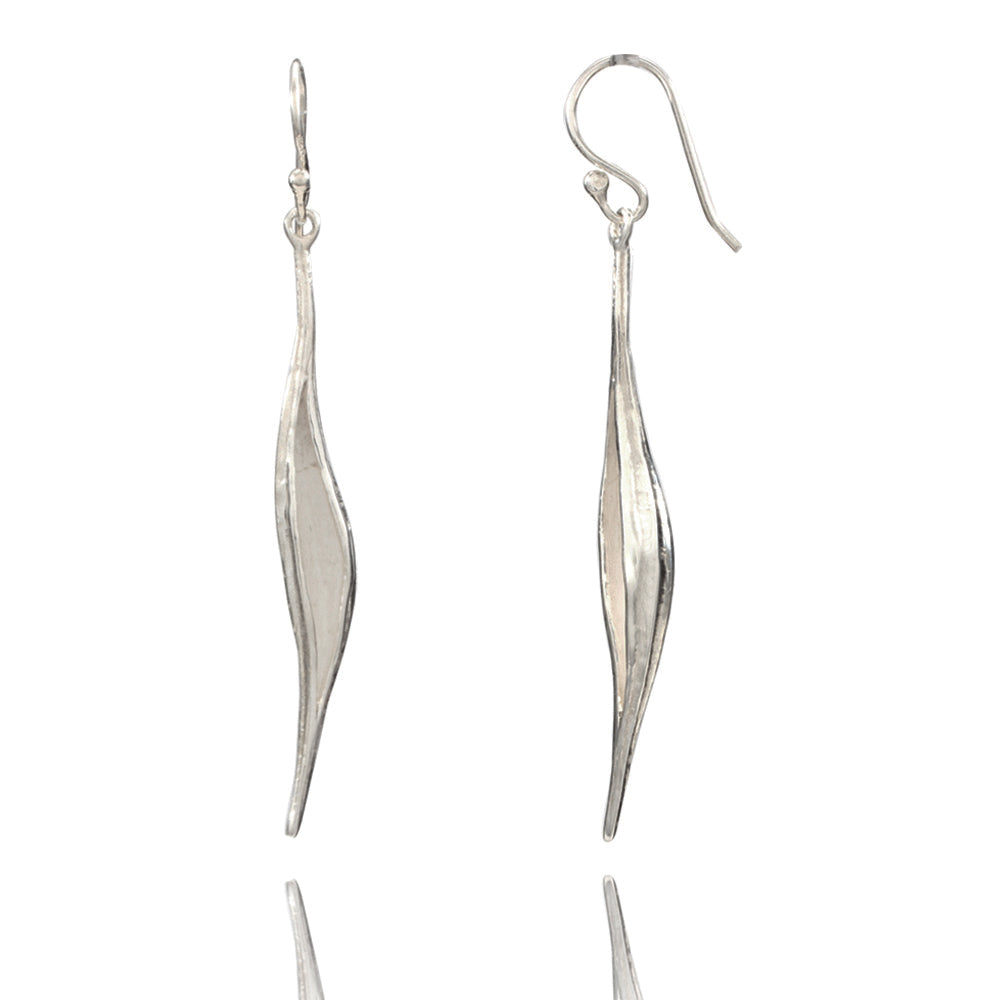 Seeds of Destiny Silver Earrings