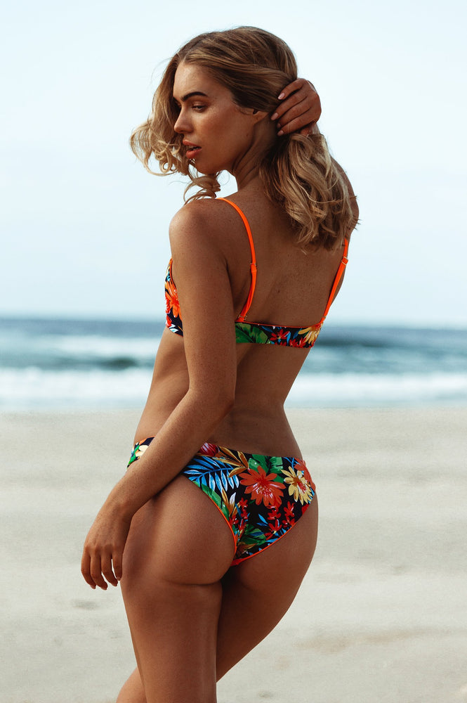 Jungle Trouble Two Piece Triangle Swimsuit