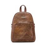 Medium Brown Real Tree Leaf Backpack
